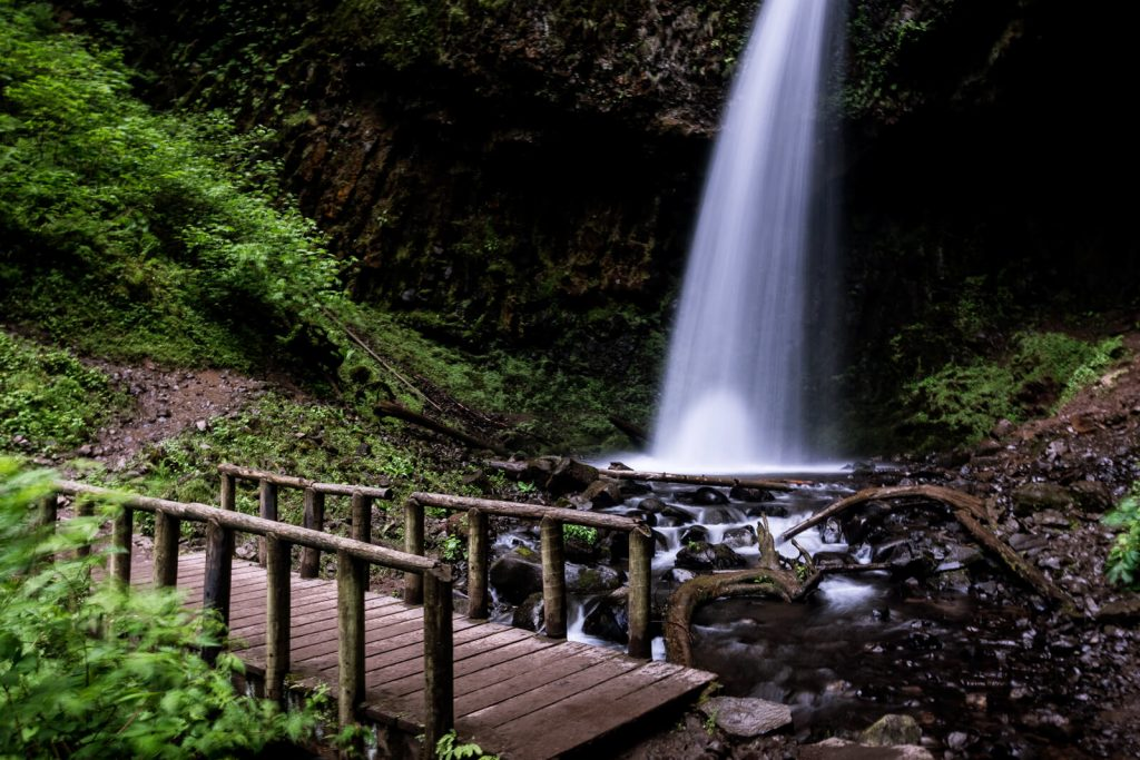 You have to stop at Upper Latourell Falls on your Portland road trip.