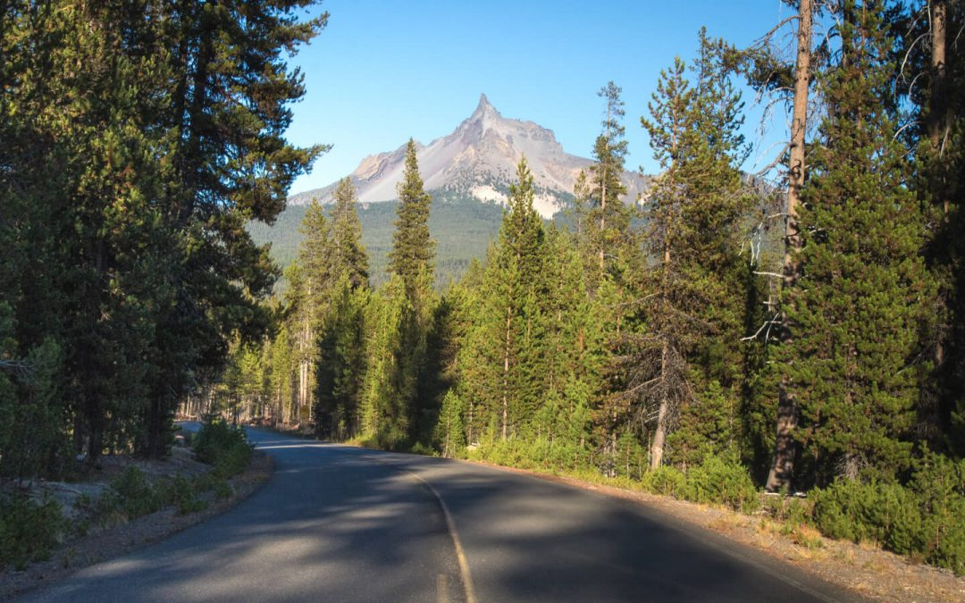 Mt. Thielsen and Diamond Lake are great places to go in Bend