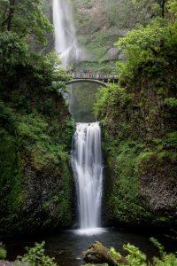 Multnomah Falls is a beautiful Oregon waterfall hike.
