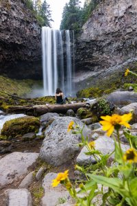 Tamanawas Falls is a breathtaking Oregon waterfall.