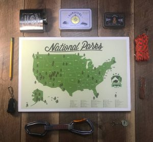Personalized hiking map