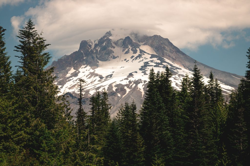 Timberline Trail is a challenging hike in Oregon