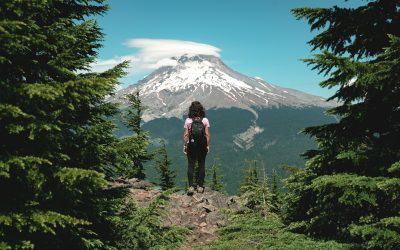 The Tom Dick and Harry Trail and Mirror Lake Loop in Mount Hood
