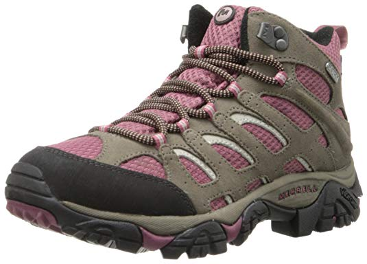 Womens Merrell hiking boots as a great hiking gift