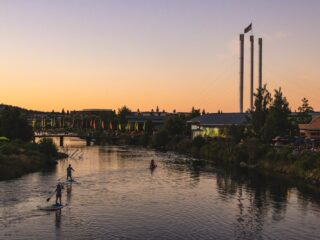 Floating on the Deschutes River is a must on your Oregon road trip.