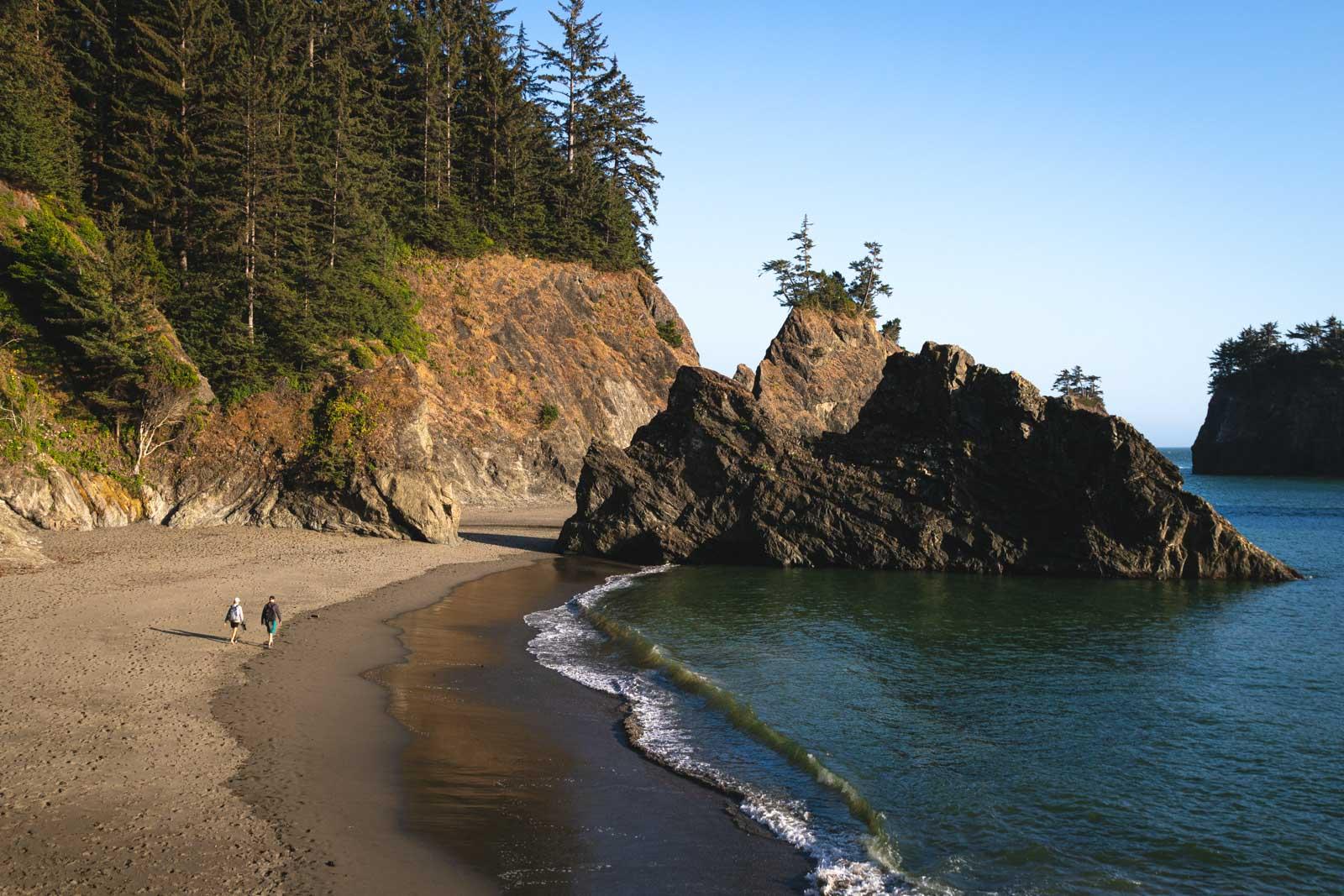 Tides at Secret Beach