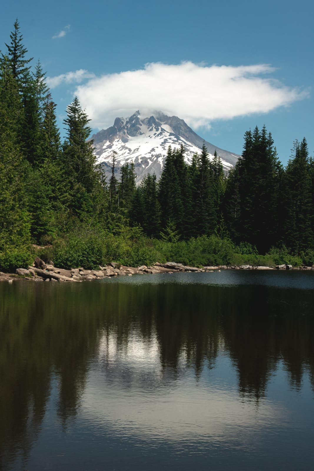 Tom Dick and Harry mountain - one of the best hikes in Oregon