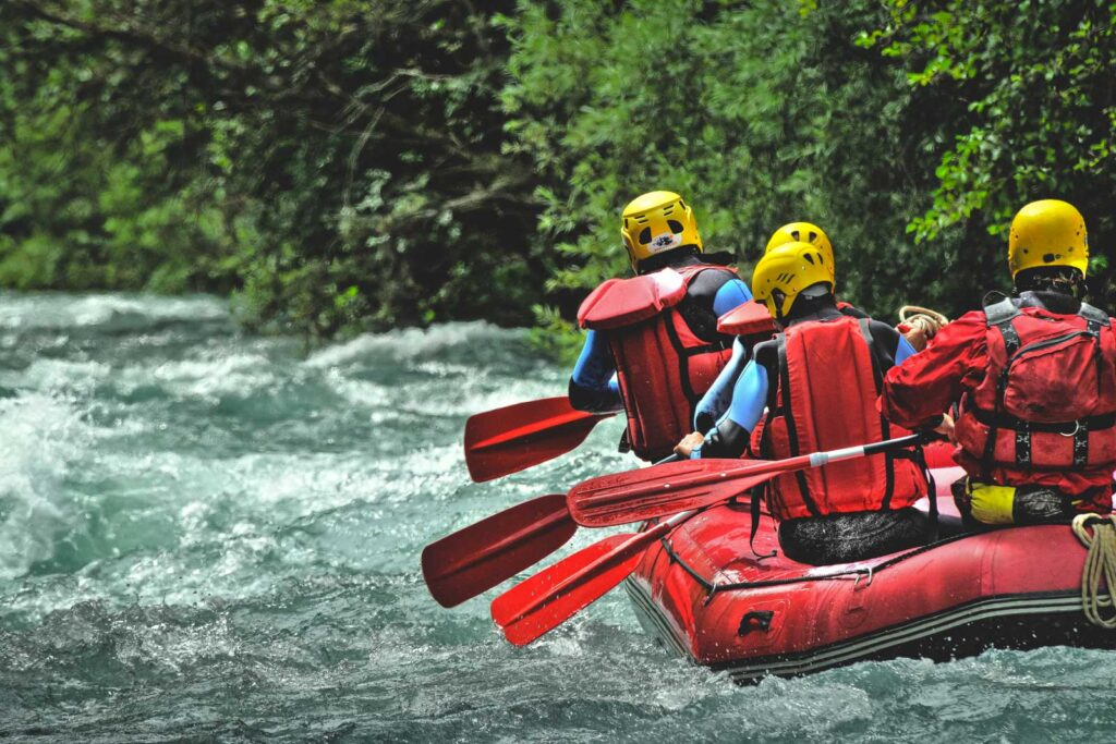 White Water Rafting at Wallowa Lake State Park