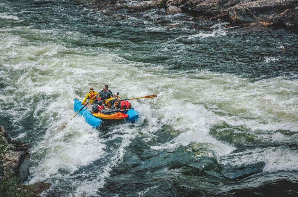 Rafting Rogue River