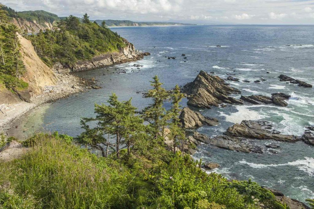 View from the top Cape Arago