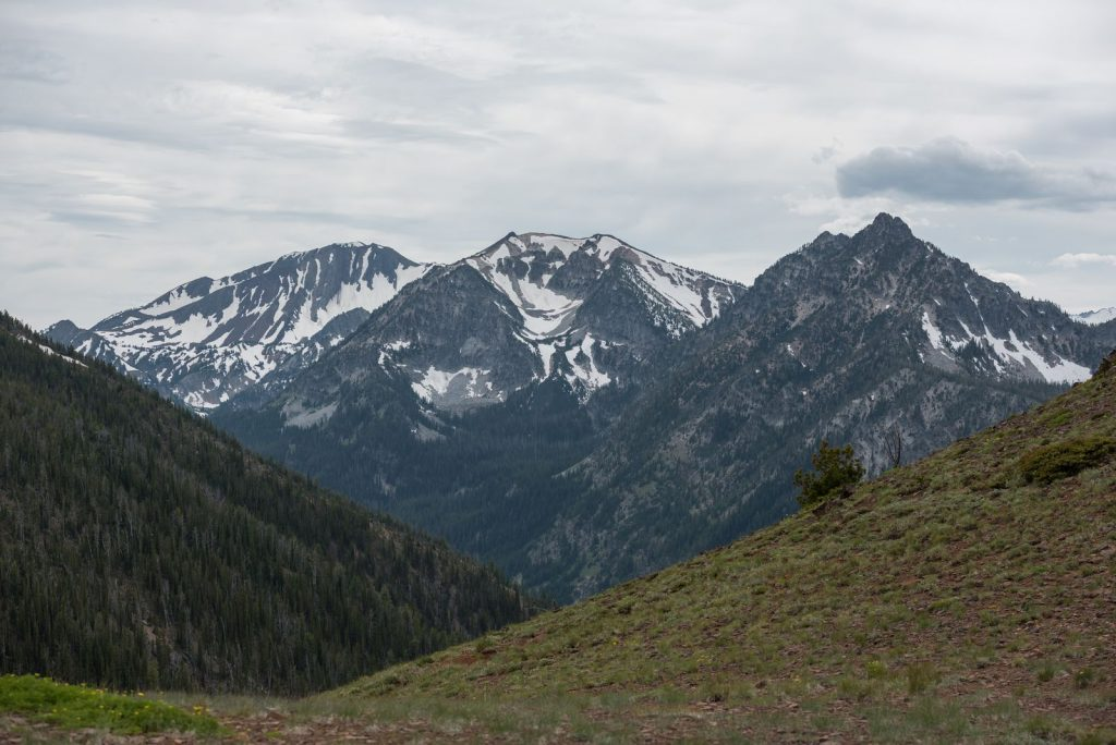 Eagle Cap Wilderness at Wallowa Lake State Park
