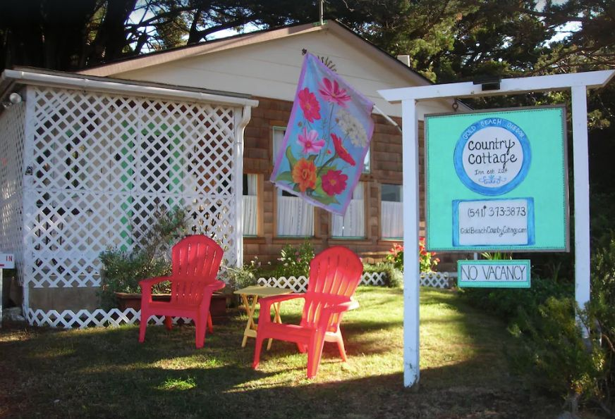 Screenshot of photo of Gold Beach Country Cottage - Oregon Coast campgrounds