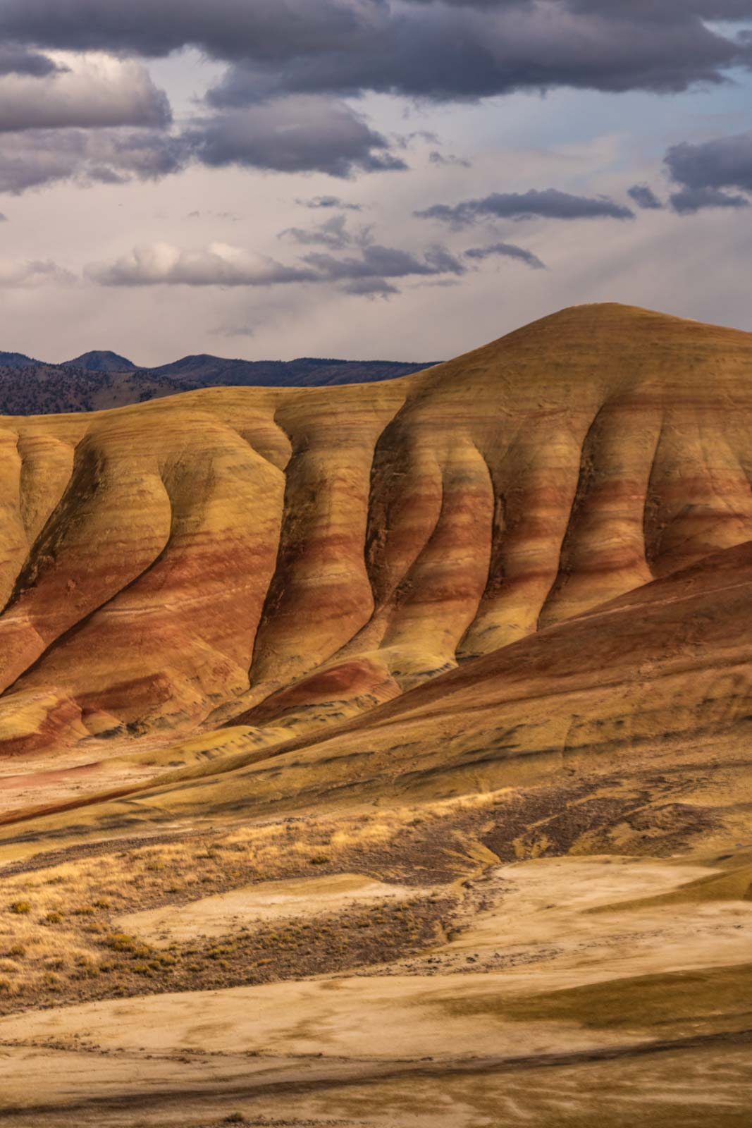 Exciting view of Painted Hills