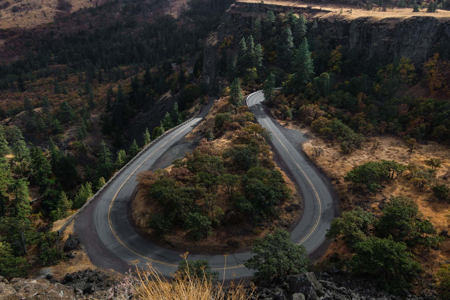 View on the Rowena Plateau Trail