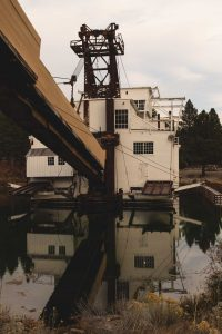Sumpter Valley Dredge during a trip