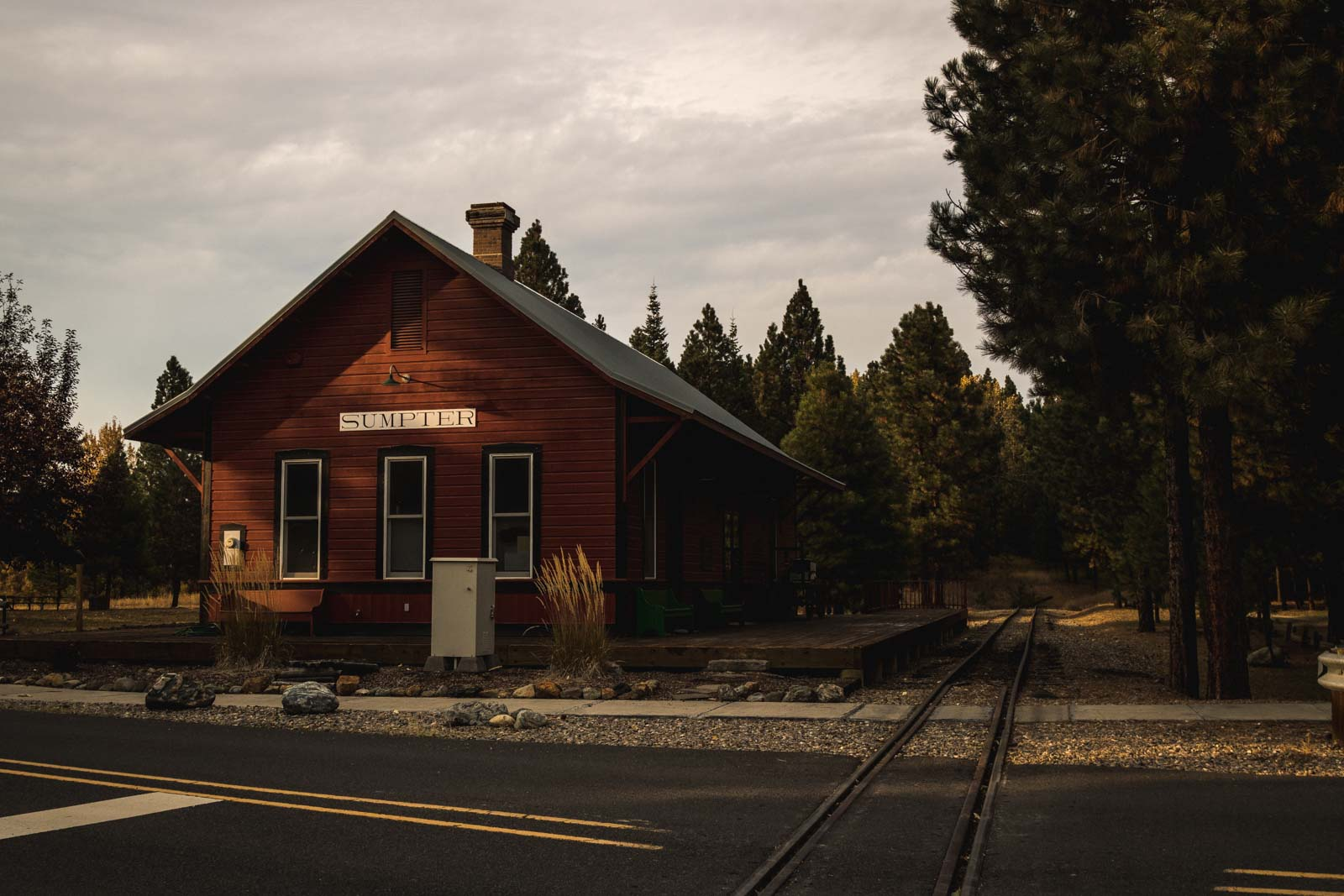 View of Sumpter Train Station