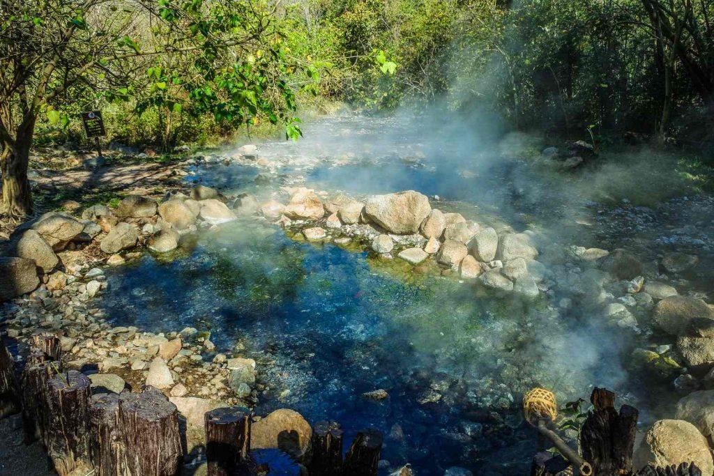 Warm springs in Wall Creek