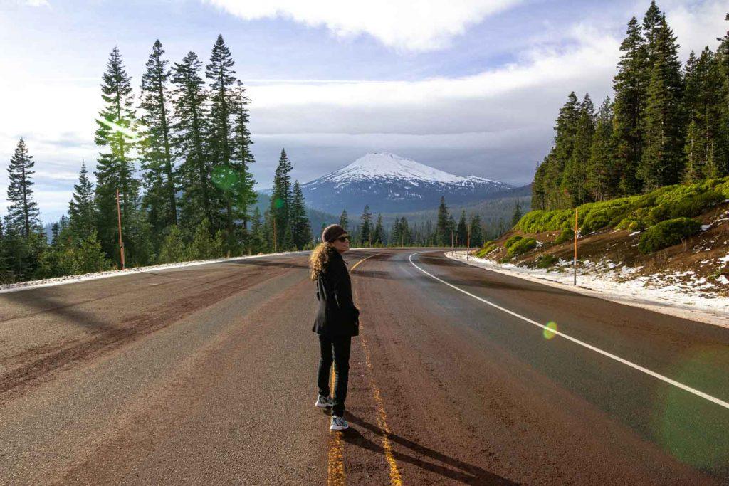 Travel to Mount Bachelor