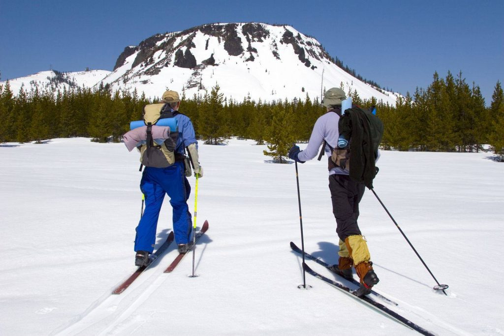 Winter in Oregon is the perfect time for skiing in the Hoodoo Ski Area