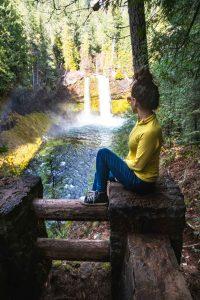 Koosah Falls is a great thing to do in Oregon