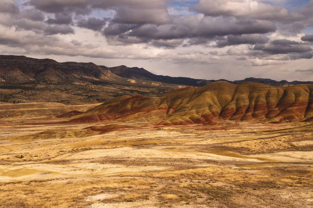Don't forget to make a stop at the Painted Hills on your Oregon road trip.