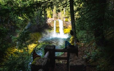 The Tamolitch Blue Pool Hike + Sahalie and Koosah Falls
