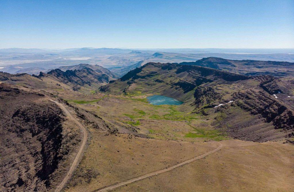 Wildhorse Lake Trail in Oregon