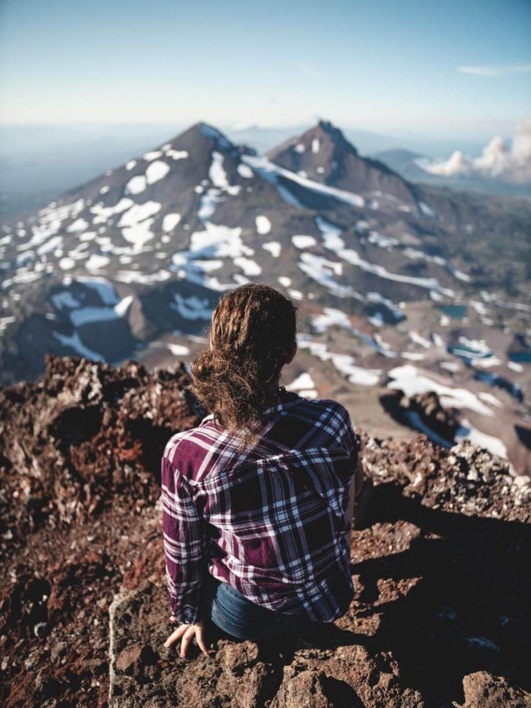 South Sister Hike in Bend, Oregon