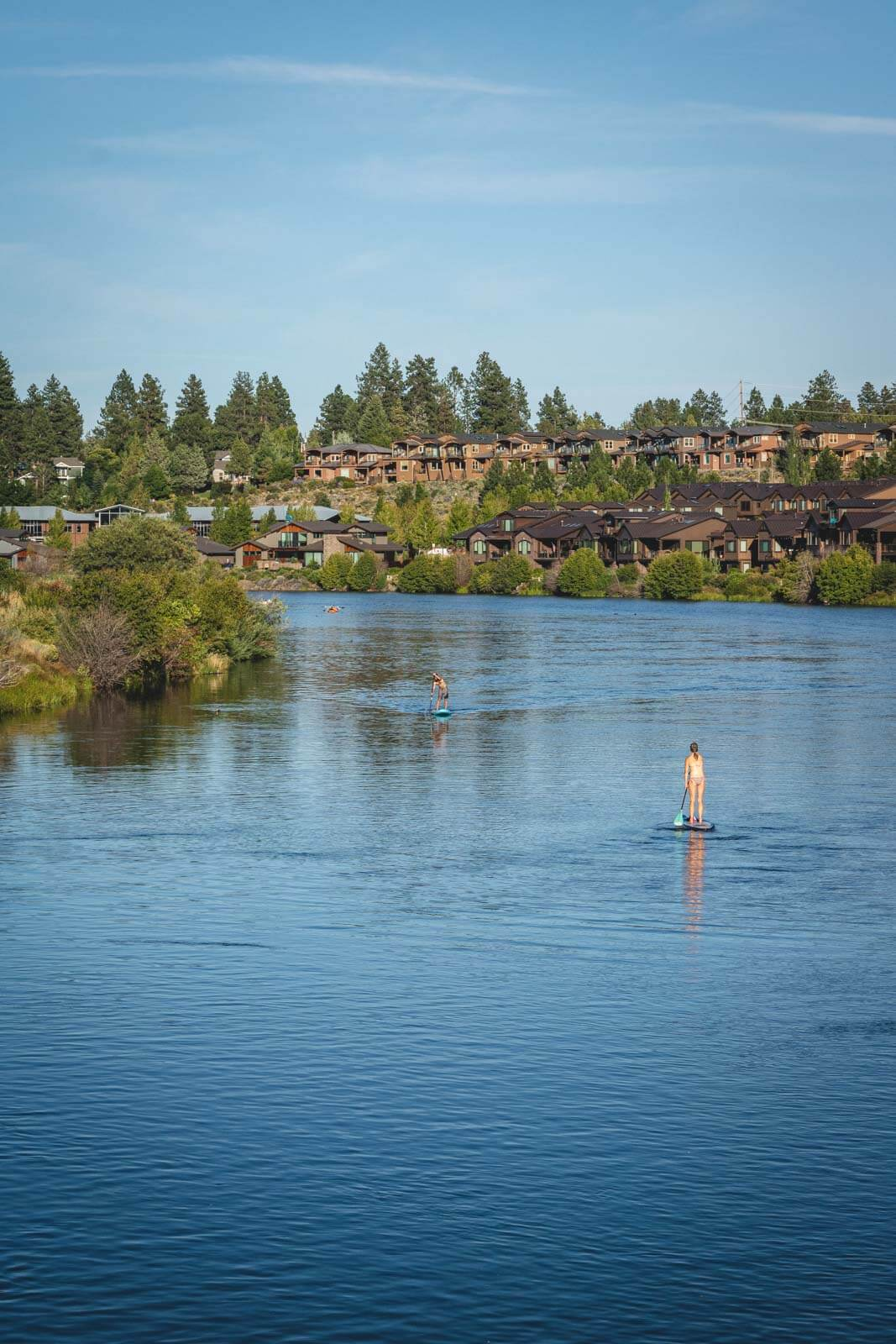 If you're looking for adventurous things to do in Sunriver, be sure to check out the Deschutes River trail.