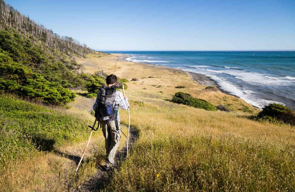 Backpacking the Lost Coast is a must on your Northern California road trip.