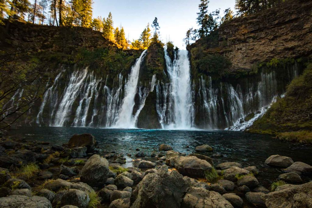 Burney Falls is an exciting thing to do in Northern California