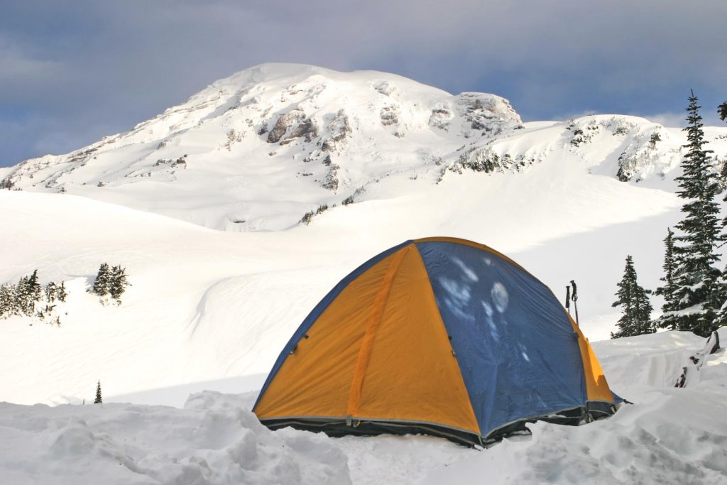 Get more out of your Washington road trip by camping!