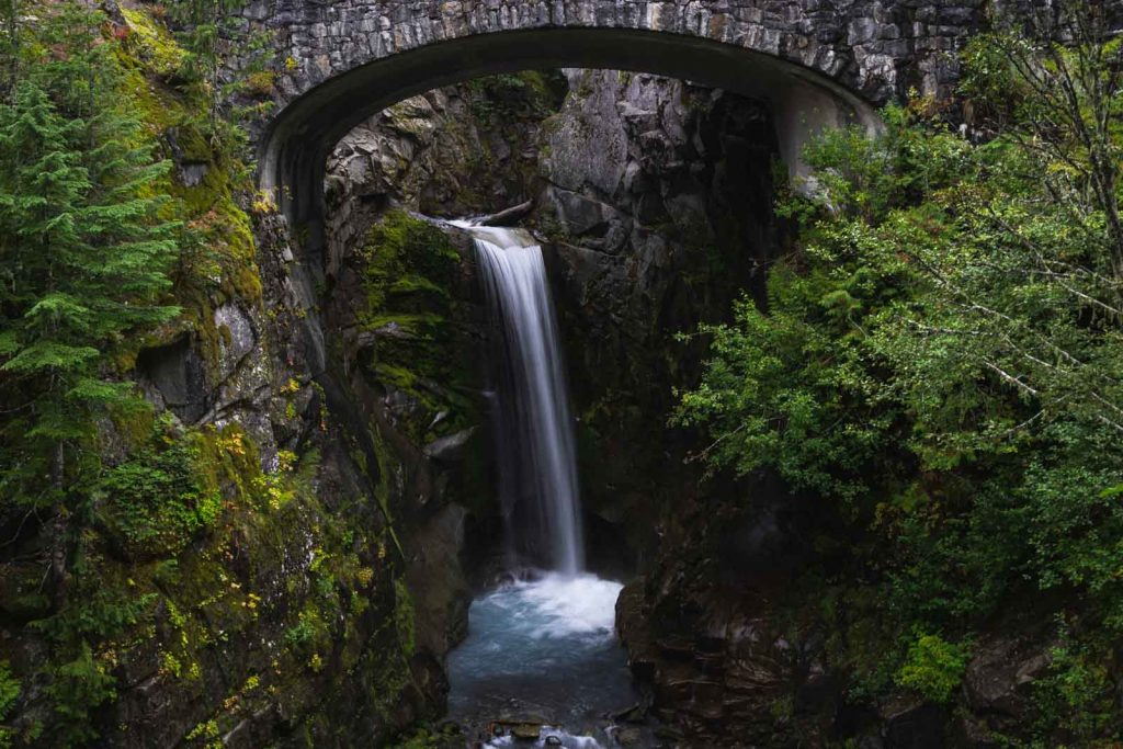 Don't forget to stop at Christine Falls on your Washington road trip.