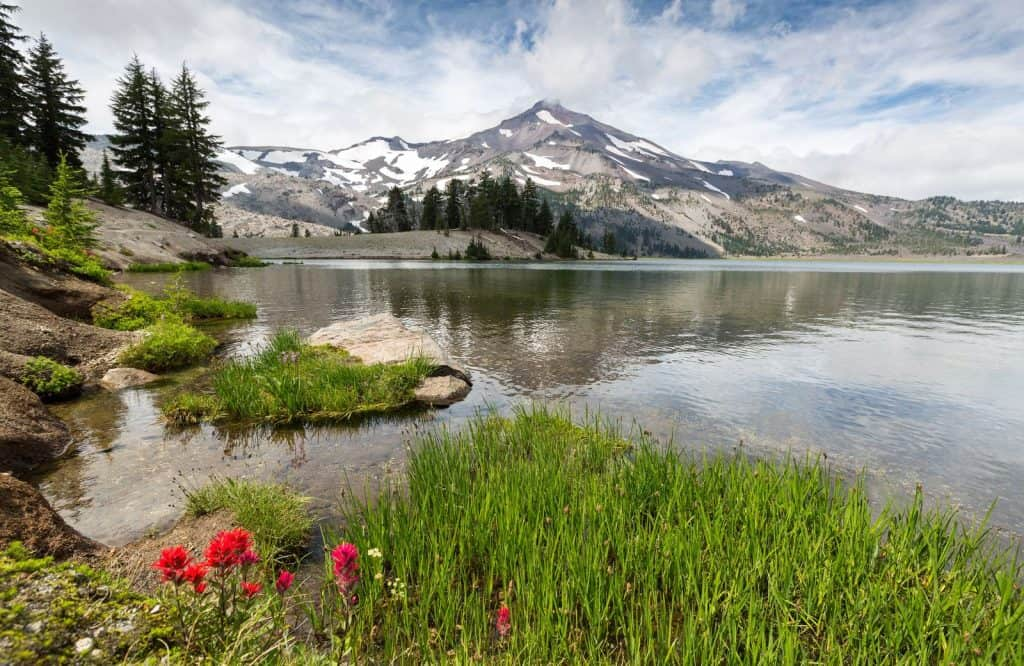 Green Lakes is a beautiful area to hike in Bend