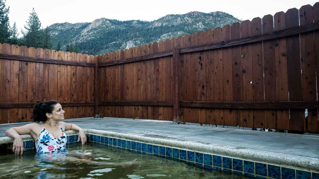 Grover Hot Springs is a relaxing place to visit in Northern California