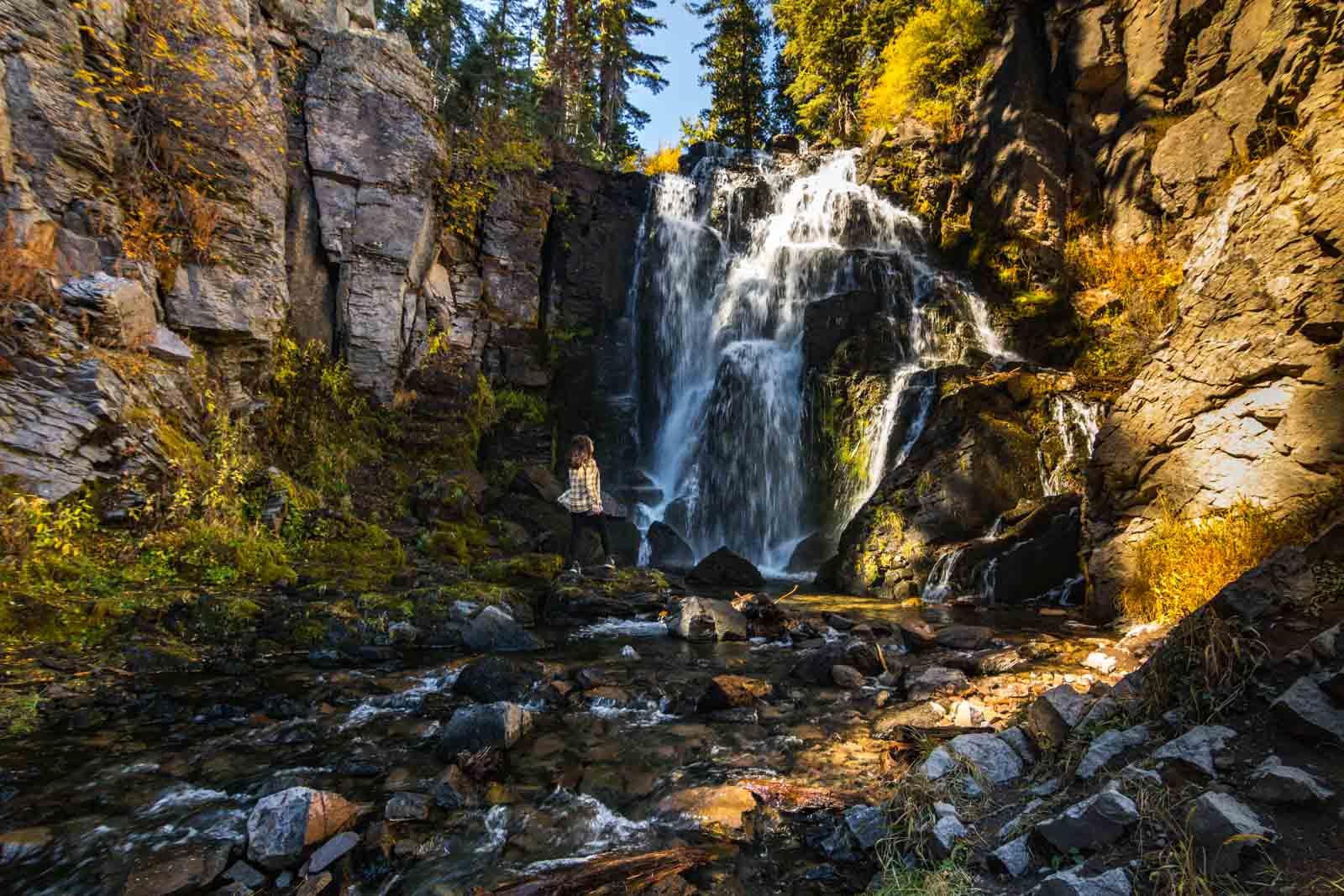 King Creek Falls is a fun thing to do in Northern California