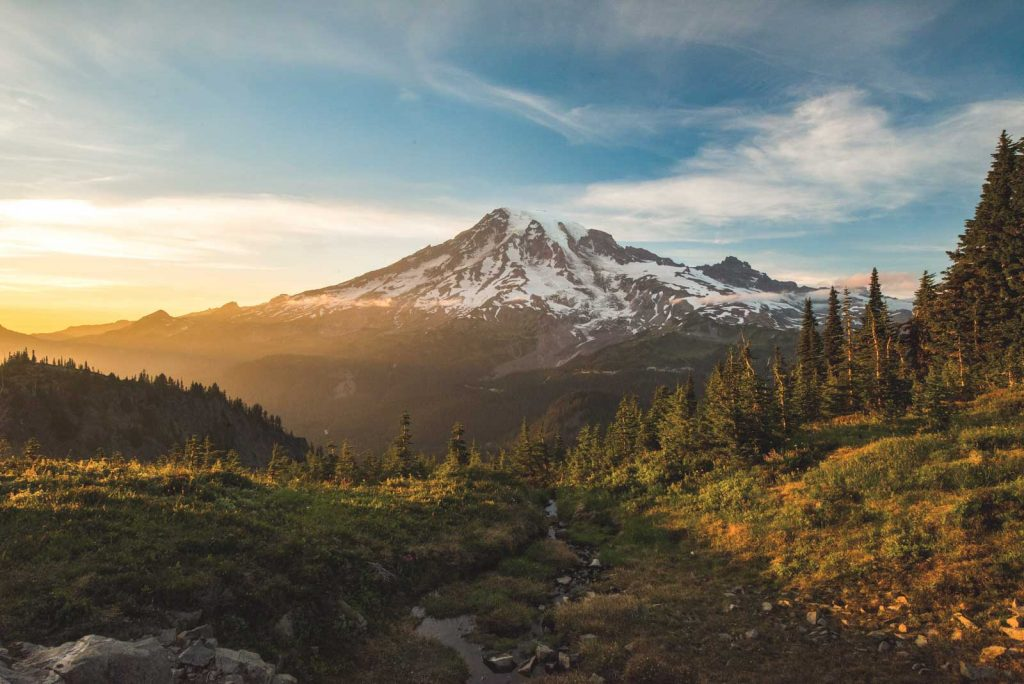 Mount Rainier is one of the most adventurous things to do in Washington