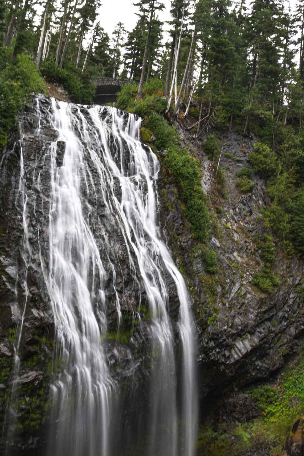 Narada Falls is a popular thing to do in Washington.