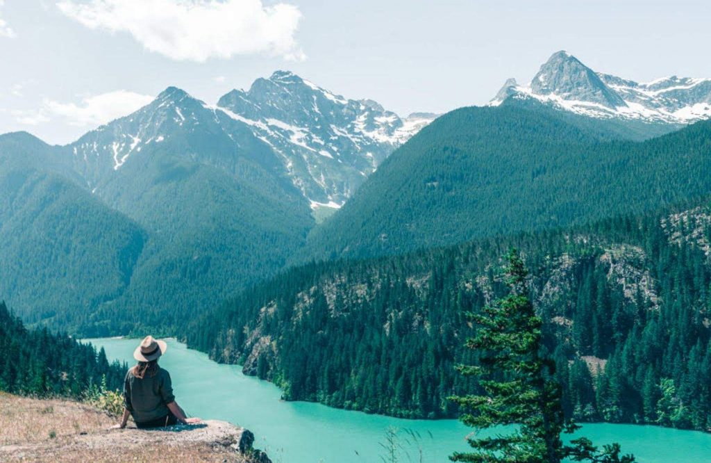 North Cascades National Park offers epic scenery on your Washington road trip.