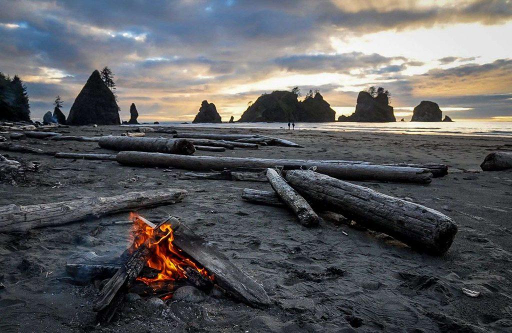 Shi Shi Beach is one of many things to do in Washington.