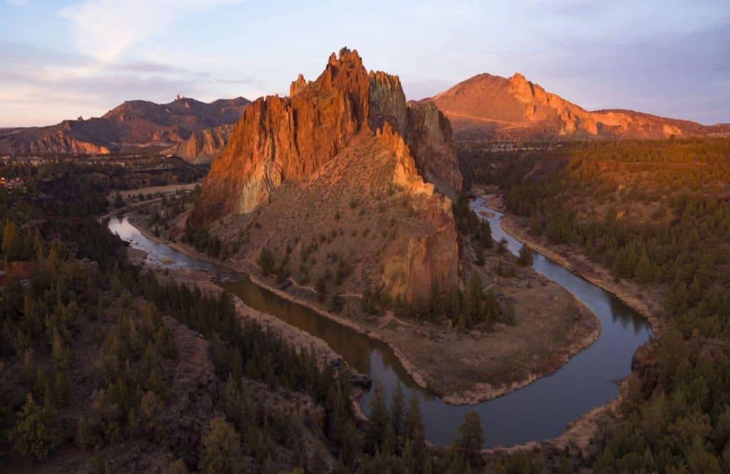 Smith Rock is another adventurous hike in Bend Oregon