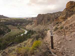 The Mesa Verde trail is a must on your Smith Rock hike.