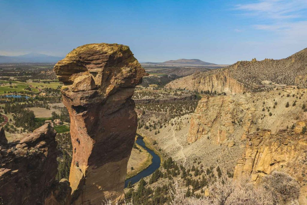 Don't miss Monkey Face during your Smith Rock hike.