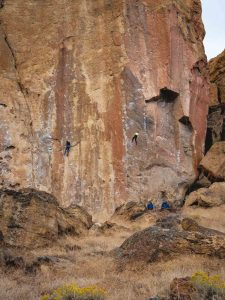 Rock climbing on one of the Smith Rock Trails is a must on your Oregon itinerary.
