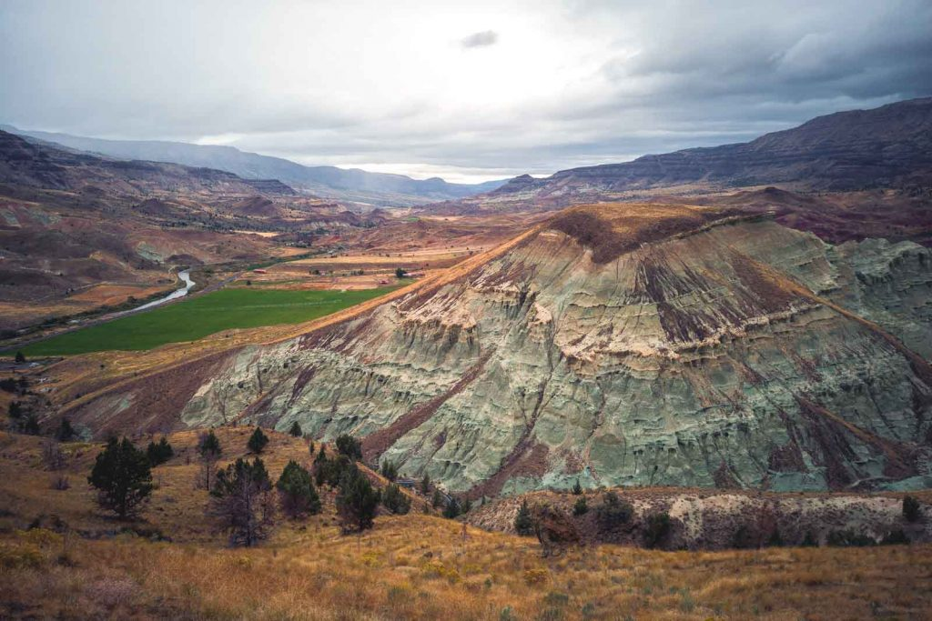 Breathtaking views of the Blue Basin Overlook in the John Day Fossil Beds.