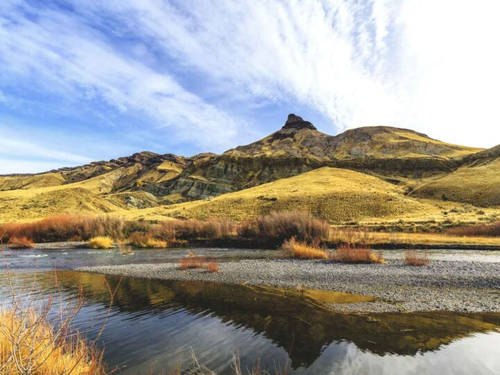 The John Day Fossil Beds in Oregon—Painted Hills, Sheep Rock & Clarno