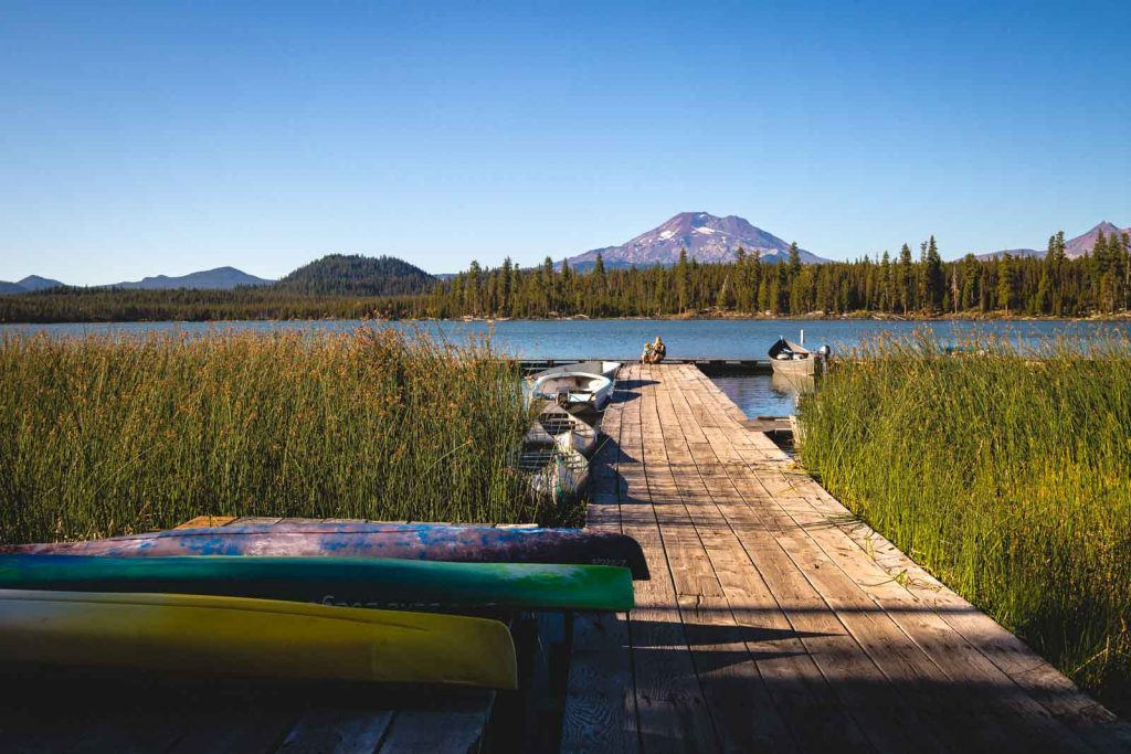 Lava Lake, near the Cascade Lakes, is another thing to do in Sunriver.