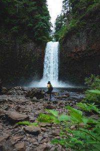 Abiqua Falls is a stunning Oregon waterfall.