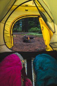 Camping at Silver Falls State Park