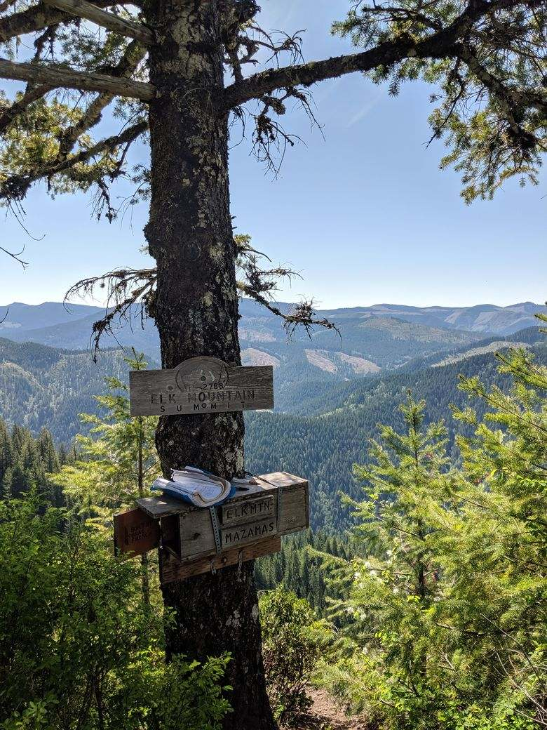Elk Mountain will be the toughest Tillamook hike that you do, but the views are worth it.